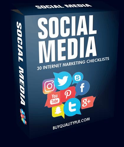 Internet Marketing Checklist - 30 Social Media Checklists