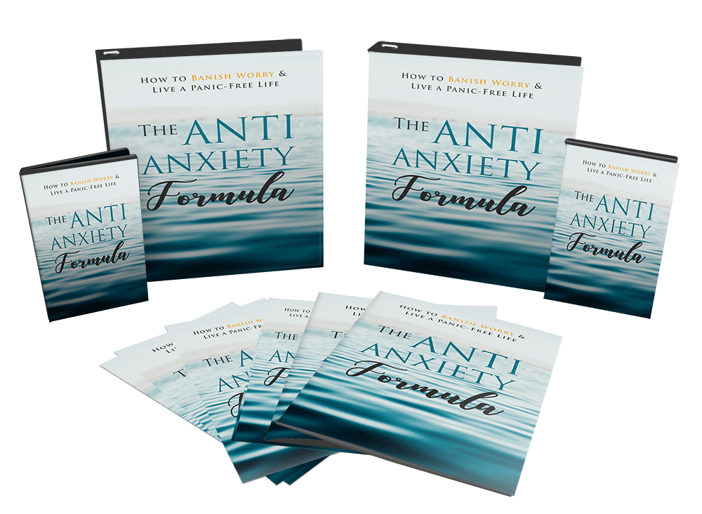 Anti Anxiety Formula Sales Funnel with Master Resell Rights Videos