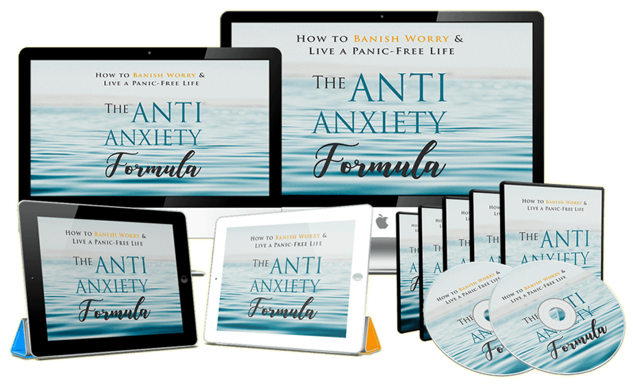 Anti Anxiety Formula Sales Funnel with Master Resell Rights