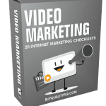 Video Marketing Internet Marketing Checklist