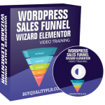 WordPress Sales Funnel Wizard Elementor Video Training Personal Use
