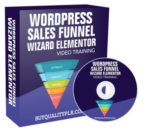 WordPress Sales Funnel Wizard Elementor Video Training Course