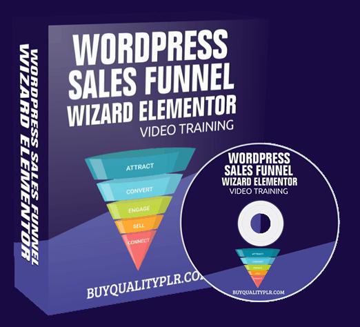 WordPress Sales Funnel Wizard Elementor Video Training Course