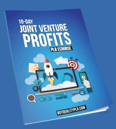 10-Day Joint Venture Profits Course PLR ECourse