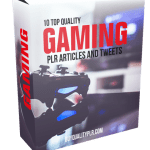 10 Top Quality Gaming PLR Articles and Tweets