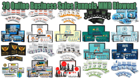 20 Online Business Sales Funnels Master Resell Rights Blowout