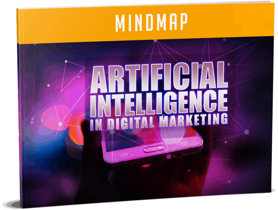 Artificial Intelligence In Digital Marketing Sales Funnel with Master Resell Rights Mindmap
