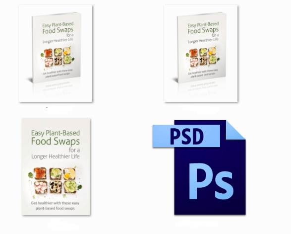 Plant-Based Food Swaps PLR Report Graphics