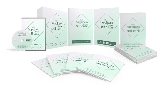 Happiness Through Self-Care Sales Funnel with Master Resell Rights