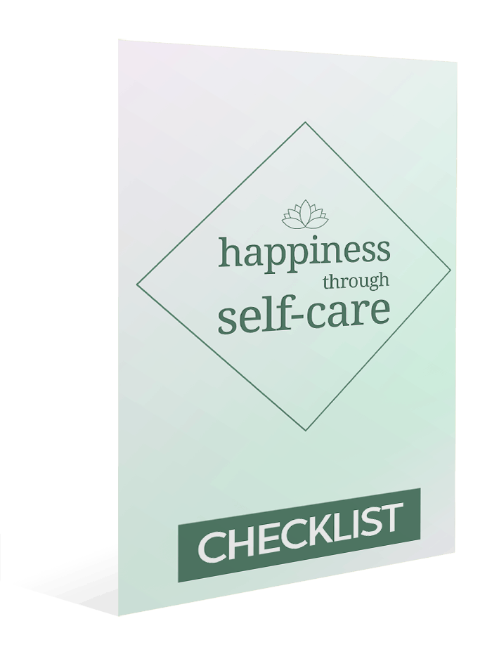 Happiness Through Self-Care Sales Funnel Master Resell Rights checklist