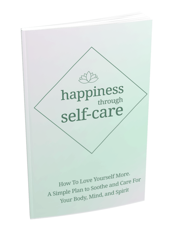 Happiness Through Self-Care Sales Funnel MRR ebook