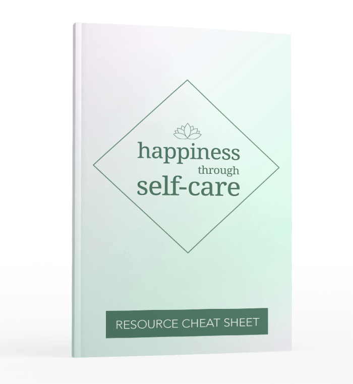 Happiness Through Self-Care Sales Funnel with Master Resell Rights resources
