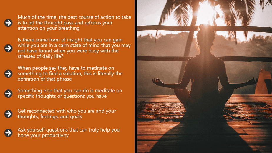 The Beginners Guide To Meditation MRR Videos Chapter 8