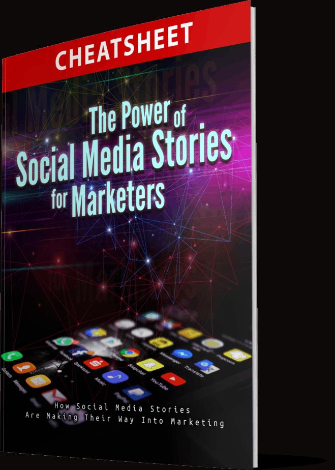 The Power Of Social Media Stories For Marketers MRR Cheatsheet