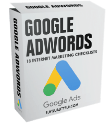 Internet Marketing Checklist - Google Adwords