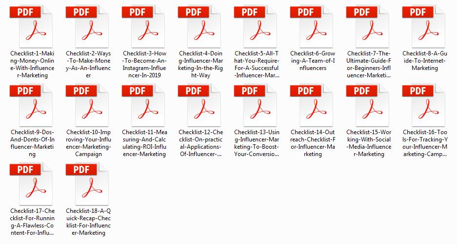 Internet Marketing Checklist - Influencer Marketing