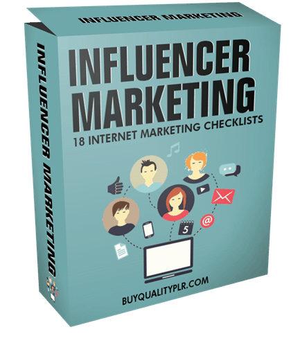 Internet Marketing Checklist - Influencer Marketing