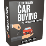 10 Top Quality Car Buying PLR Articles and Tweets