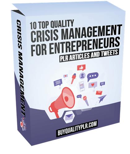 10 Top Quality Crisis Management for Entrepreneurs Articles and Tweets