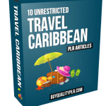 10 Unrestricted Travel Caribbean PLR Articles