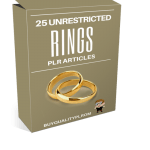 25 Unrestricted Rings PLR Articles
