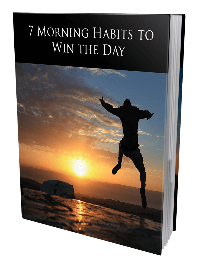 7 Morning Habits To Win The Day MRR Ebook and Squeeze Page