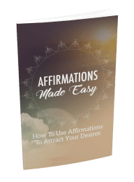 Affirmations Made Easy Master Resell Rights eBook