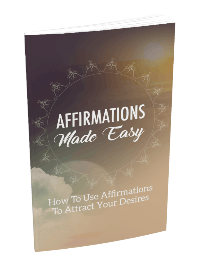 Affirmations Made Easy MRR Ebook and Squeeze Page