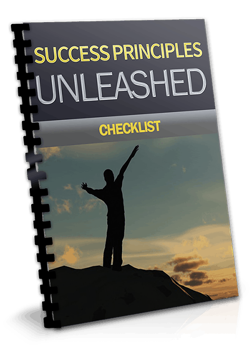 Success Principles Unleashed PLR Ebook Complete Check List