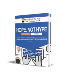 Hope Not Hype PLR Ebook - Rebrandable Course