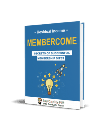 Membercome Membership Site PLR Ebook - Coaching Program