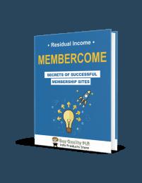 Membercome Membership Site PLR Ebook - Coaching Program