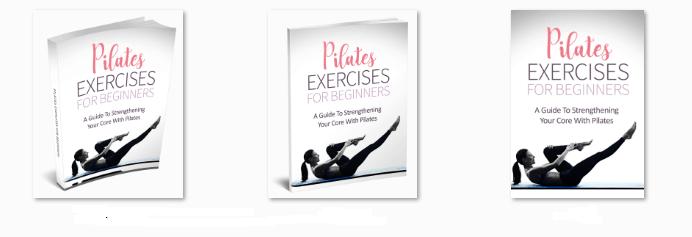 Pilates Exercises For Beginners Premium PLR eBook