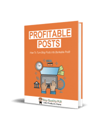 Profitable Posts Blogging Brandable Coaching Ebook