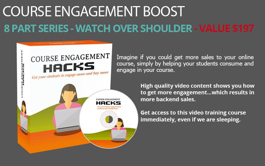 Course Engagement PLR Video Course
