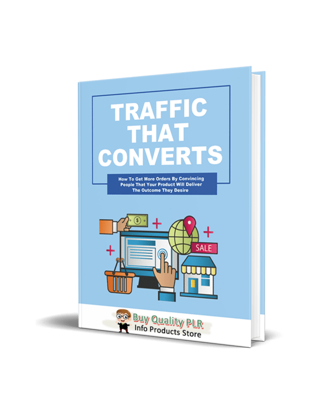 Traffic That Converts More Customers PLR Coaching Ebook