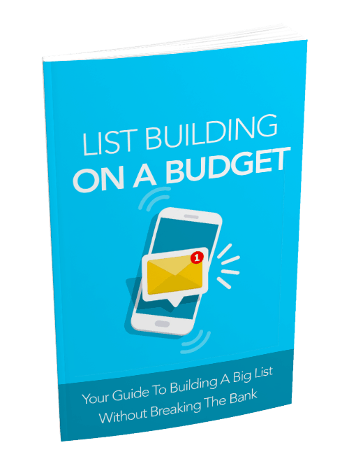 List Building On A Budget Master Resell Rights Ebook