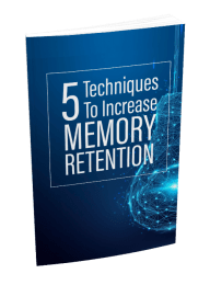 5 Techniques To Increase Memory Retention MRR Ebook and Squeeze Page