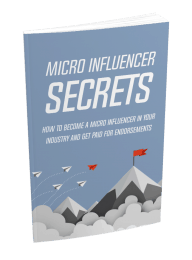 Micro Influencer Secrets MRR Ebook with Reseller Toolkit lead magnet