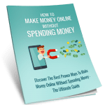 How To Make Money Online without Spending Money 10k words PLR Ebook