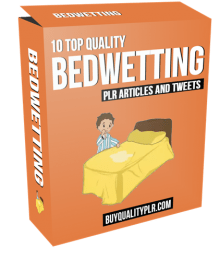 10 Top Quality Bedwetting PLR Articles and Tweets