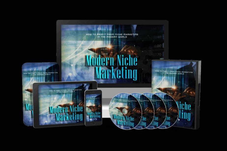Modern Niche Marketing Sales Funnel with MRR Videos Bundle