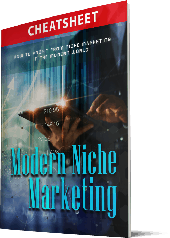 Modern Niche Marketing Sales Funnel with Master Resell Rights Cheatsheet
