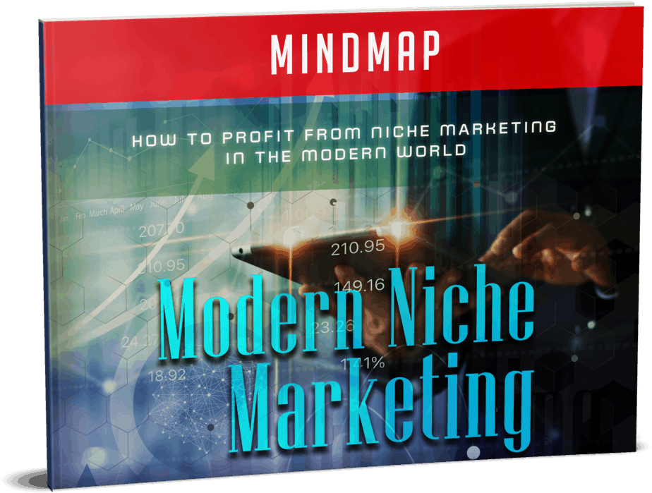 Modern Niche Marketing Sales Funnel with Master Resell Rights Mindmap