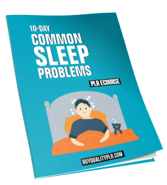10-Day Common Sleep Problems PLR ECourse