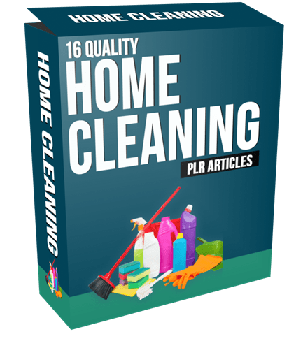 16 Quality Home Cleaning PLR Articles