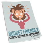 Budget Friendly Stress-Busting Ideas for Mom PLR Report