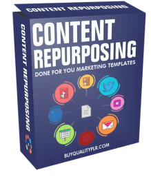 Content Repurposing Done For You Marketing Templates