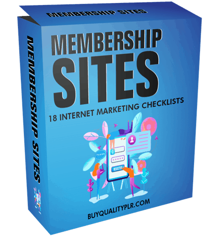 Internet Marketing Checklist Membership Sites