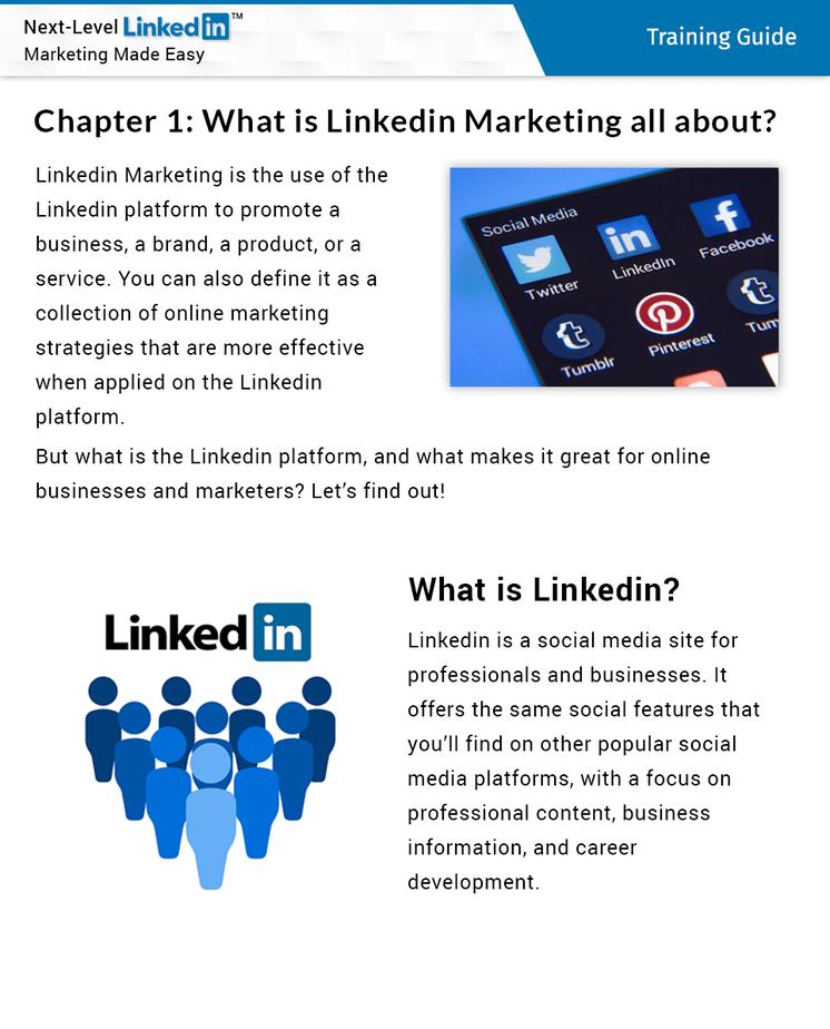 Next Level LinkedIn Marketing Insider Look